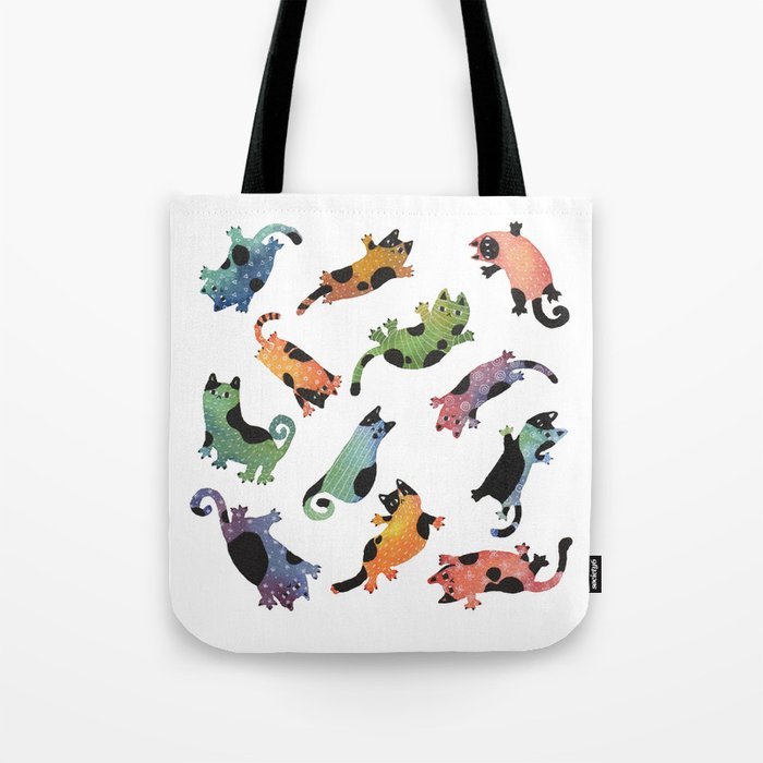 12 cats Tote Bag