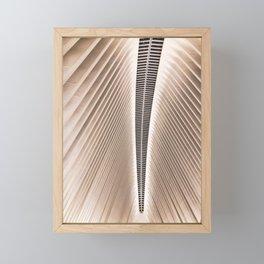 The Oculus NYC Framed Mini Art Print