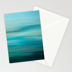 Greenish Blue Sea Stationery Cards