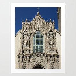 The California Building at Balboa Park in San Diego Art Print