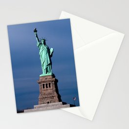 Statue Of Liberty Shines Her Spirit Stationery Cards