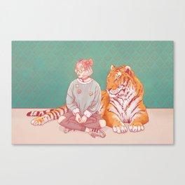 I'm a cat Lady Canvas Print