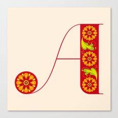 A-Amarilis Canvas Print