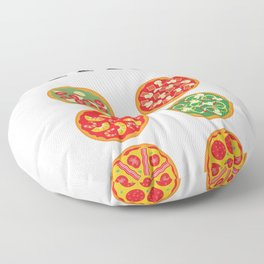 Check Out My Six Pack Pizza Funny Workout Gym Floor Pillow