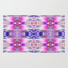 PINK AND PURPLE Rug