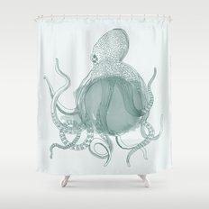 Octopus Shower Curtain