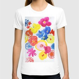 simply flowers T-shirt