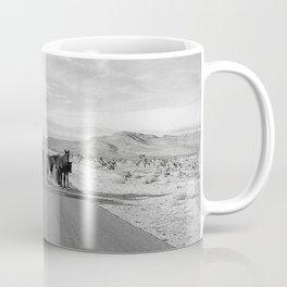 Spring Mountain Wild Horses Coffee Mug