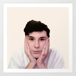 Dan Howell Art Print