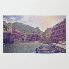 A Little Fishing Village In Italy Rug