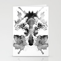 rorschach Stationery Cards featuring Rorschach by Robert Farkas