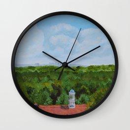 Nashville Skyline from Cheekwood Wall Clock