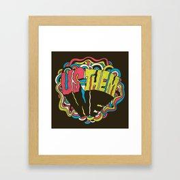 US = THEM Framed Art Print