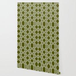 Hatchees (Olive Green) Wallpaper