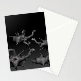 Cuatro Armagedones 3D - Libro Humanos como monstruos Stationery Cards