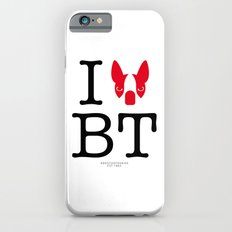 I ♥ BOSTON TERRIER iPhone 6s Slim Case