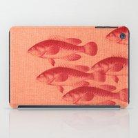 "fez iPad Cases featuring Coletivo ""Peixes"" by Fernando Vieira"