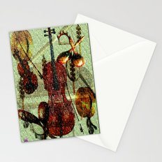 Mint Strings Stationery Cards