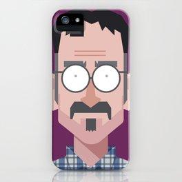 Comics of Comedy: Marc Maron iPhone Case