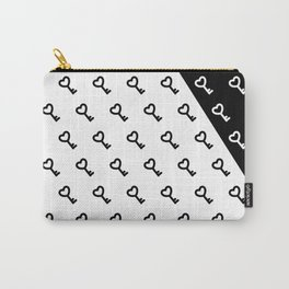 Black & White Keys Carry-All Pouch