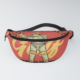 Outer Space Golf Championship Fanny Pack