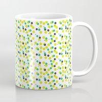 confetti Mugs featuring confetti by MGK Designs