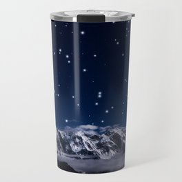 At the roof of the world Travel Mug