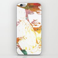 johnny depp iPhone & iPod Skins featuring Johnny Depp by Nechifor Ionut