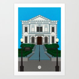 Crocker Art Museum Art Print