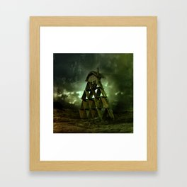 Foundation of Broken Hearts Framed Art Print