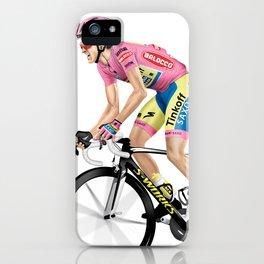 Alberto Contador | Giro iPhone Case