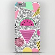 Modern geometric pattern Memphis patterns inspired iPhone 6 Plus Slim Case