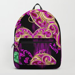 HEART Rain HD by JC LOGAN 4 Simply Blessed Backpack