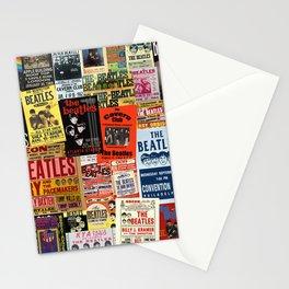 Vintage Rock Concert Posters Stationery Cards