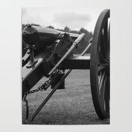 Civil War Era Cannon Poster