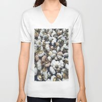 antique V-neck T-shirts featuring antique  by n o a h