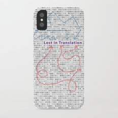Lost in Translation iPhone X Slim Case