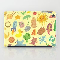 be happy iPad Cases featuring Happy by Vladimir Stankovic