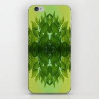 leaf iPhone & iPod Skins featuring Leaf by Cs025