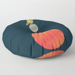 Solar System 2 Floor Pillow