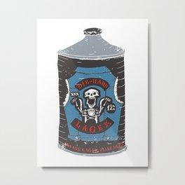 Die Hard Lager Metal Print
