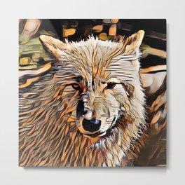 ArtAnimal Wolf Metal Print