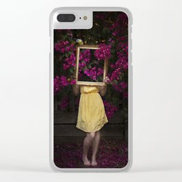 Flora Clear iPhone Case