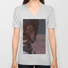 Great Vengeance And Furious Anger - Pulp Fiction Unisex V-Neck