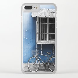 colorless shanghai 3 Clear iPhone Case