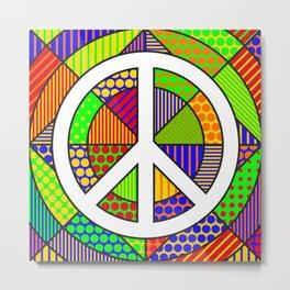 Peace #2 – PoP Art Metal Print