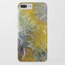 Claude Monet The Path through the Irises iPhone Case