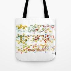Arabesque pattern Tote Bag