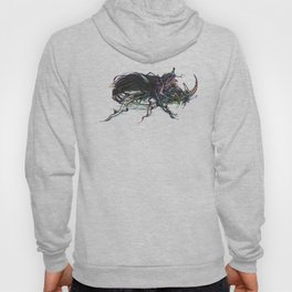 Beetle 1. Color & Black on white background Hoody