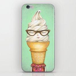 Ill Humored Ice Cream-Twisty Cone iPhone Skin